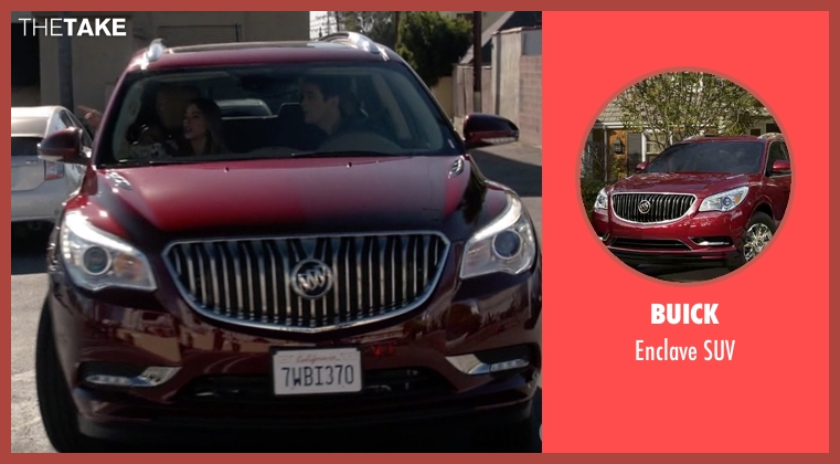 Buick suv from Modern Family seen with Phil Dunphy (Ty Burrell)