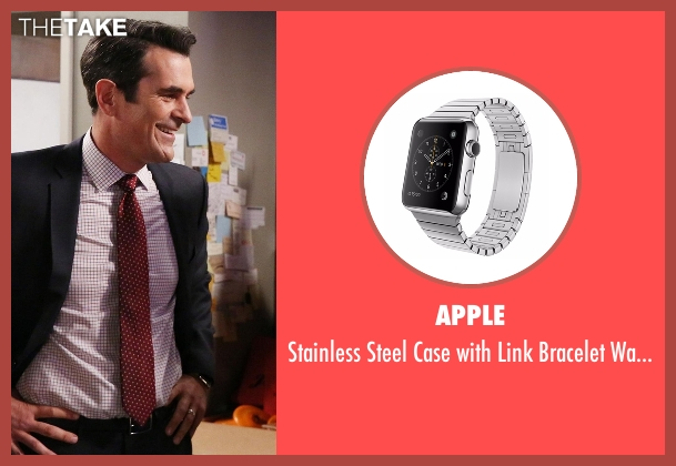 Apple watch from Modern Family seen with Phil Dunphy (Ty Burrell)