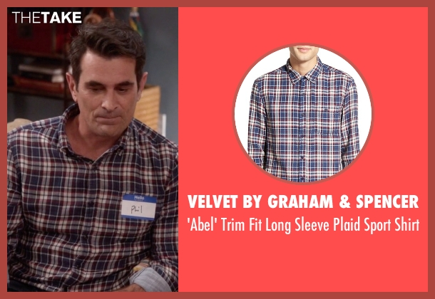 Velvet by Graham & Spencer white shirt from Modern Family seen with Phil Dunphy (Ty Burrell)