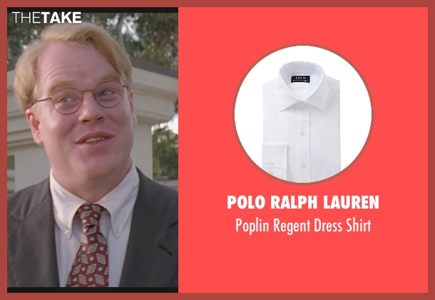 Polo Ralph Lauren white shirt from The Big Lebowski seen with Philip Seymour Hoffman (Brandt)
