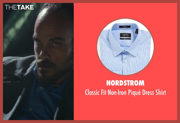Nordstrom blue shirt from Ride Along seen with Phillip DeVona (Tweaker)