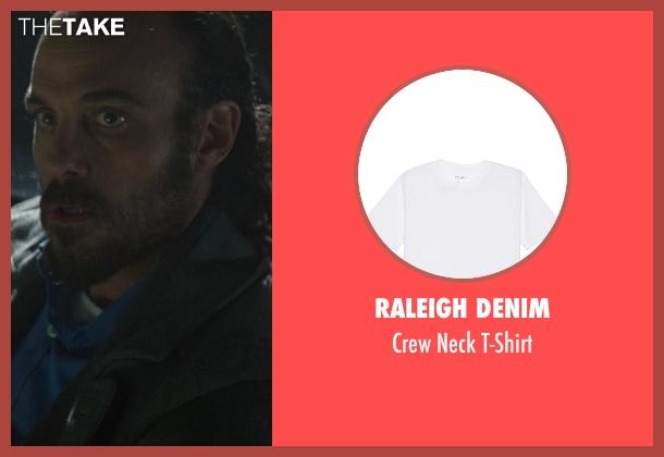 Raleigh Denim white t-shirt from Ride Along seen with Phillip DeVona (Tweaker)