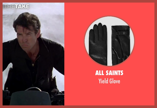 All Saints black glove from GoldenEye seen with Pierce Brosnan (James Bond)