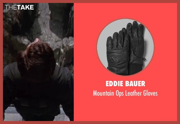 Eddie Bauer black gloves from GoldenEye seen with Pierce Brosnan (James Bond)