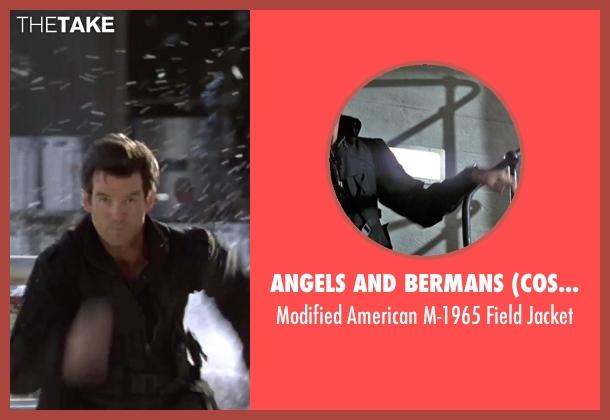 Angels and Bermans (Costume Designer) black jacket from GoldenEye seen with Pierce Brosnan (James Bond)