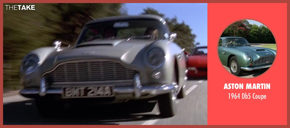 Aston Martin coupe from GoldenEye seen with Pierce Brosnan (James Bond)