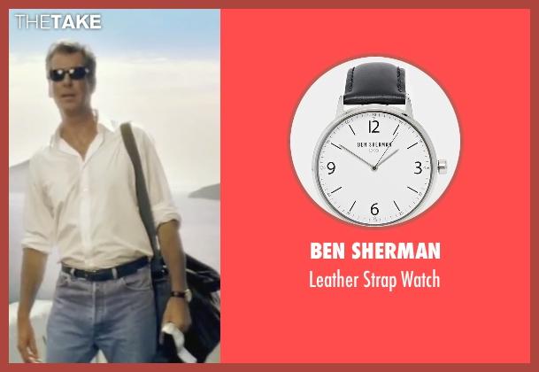 Ben Sherman black watch from Mamma Mia! seen with Pierce Brosnan (Sam)