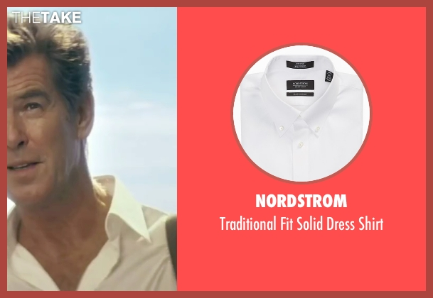 Nordstrom white shirt from Mamma Mia! seen with Pierce Brosnan (Sam)