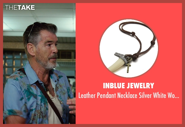 Inblue Jewelry tooth from No Escape seen with Pierce Brosnan (Hammond)