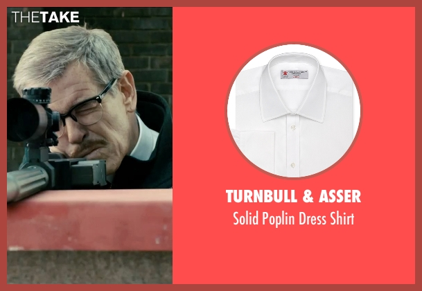 Turnbull & Asser white shirt from Survivor seen with Pierce Brosnan (The Watchmaker)