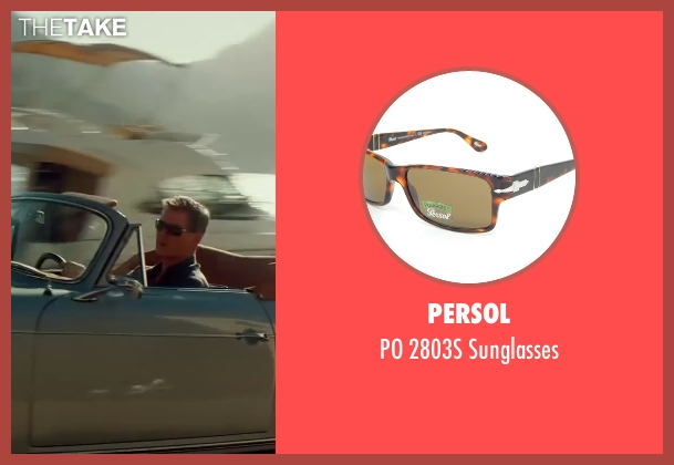 Persol brown sunglasses from The November Man seen with Pierce Brosnan (Peter Devereaux)