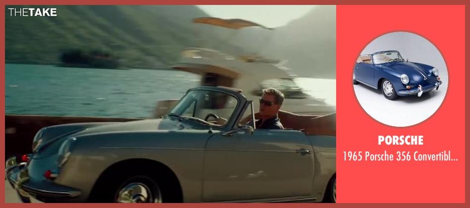 Porsche convertible/coupe from The November Man seen with Pierce Brosnan (Peter Devereaux)
