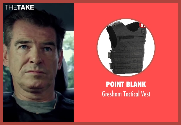 Point Blank vest from The November Man seen with Pierce Brosnan (Peter Devereaux)