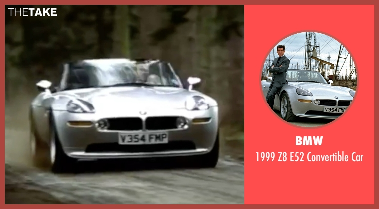 BMW car from The World is Not Enough seen with Pierce Brosnan (James Bond)