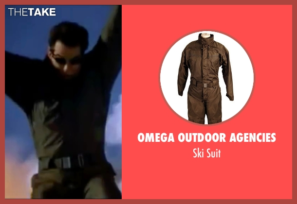 Omega Outdoor Agencies suit from The World is Not Enough seen with Pierce Brosnan (James Bond)