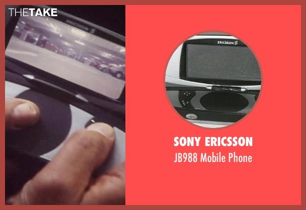 Sony Ericsson phone from Tomorrow Never Dies seen with Pierce Brosnan (James Bond)