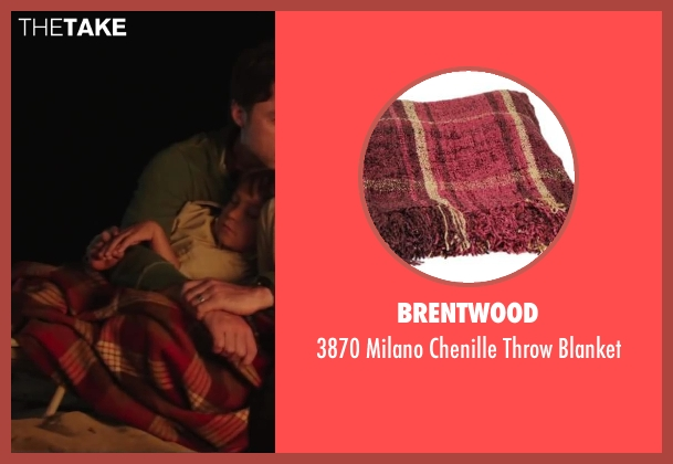 Brentwood blanket from Wish I Was Here seen with Pierce Gagnon (Tucker Bloom)
