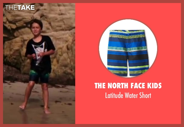 The North Face Kids blue short from Wish I Was Here seen with Pierce Gagnon (Tucker)