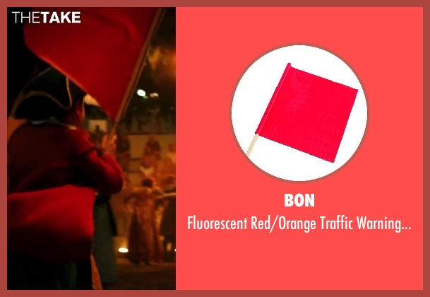 Bon flag from Wish I Was Here seen with Pierce Gagnon (Tucker)