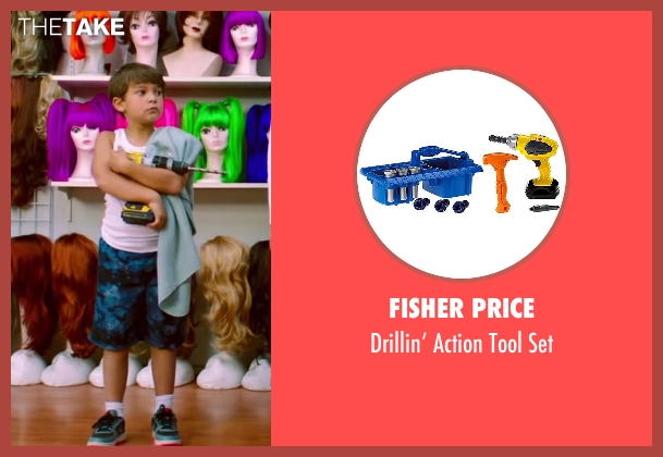 Fisher Price set from Wish I Was Here seen with Pierce Gagnon (Tucker)