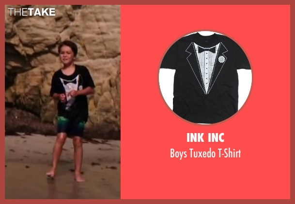 Ink Inc t-shirt from Wish I Was Here seen with Pierce Gagnon (Tucker)