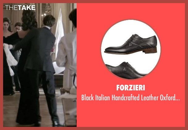 Forzieri black shoes from Yves Saint Laurent seen with Pierre Niney (Yves Saint Laurent)