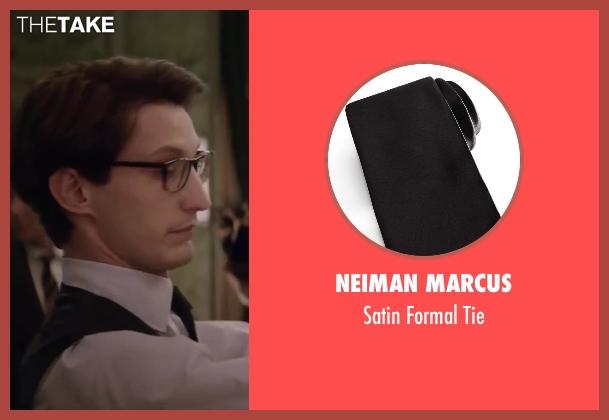 Neiman Marcus black tie from Yves Saint Laurent seen with Pierre Niney (Yves Saint Laurent)