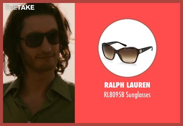 Ralph Lauren brown sunglasses from Yves Saint Laurent seen with Pierre Niney (Yves Saint Laurent)