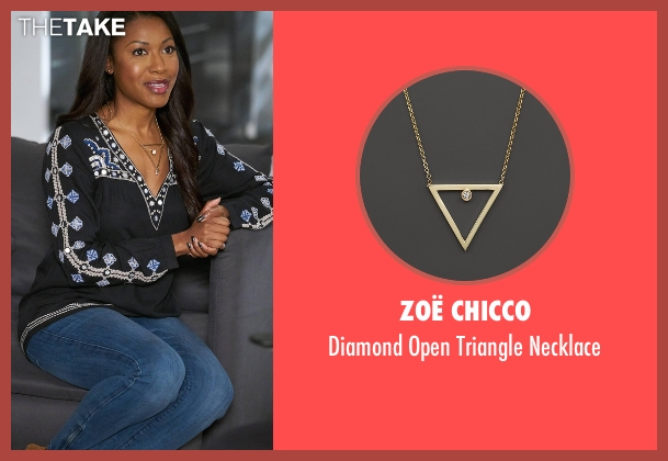 Zoë Chicco gold necklace from Rosewood seen with Pippy Rosewood (Gabrielle Dennis)