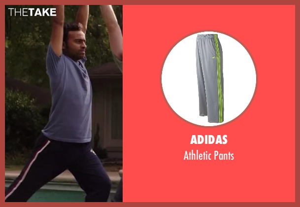 Adidas gray pants from Million Dollar Arm seen with Madhur Mittal (Dinesh)