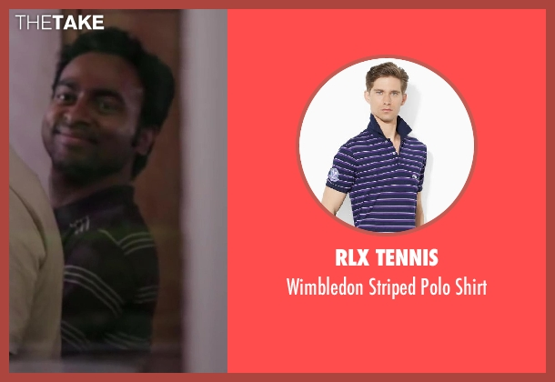 RLX Tennis purple shirt from Million Dollar Arm seen with Pitobash (Amit Rohan)