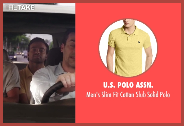 U.S. Polo Assn. yellow polo from Million Dollar Arm seen with Pitobash (Amit Rohan)
