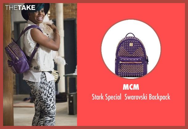 MCM backpack from Empire seen with Porsha (Ta'Rhonda Jones)