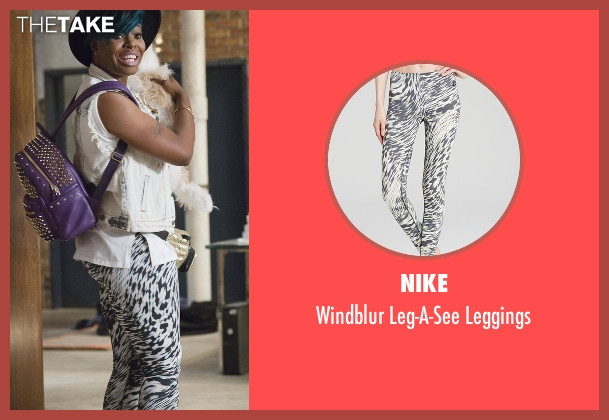 Nike leggings from Empire seen with Porsha (Ta'Rhonda Jones)