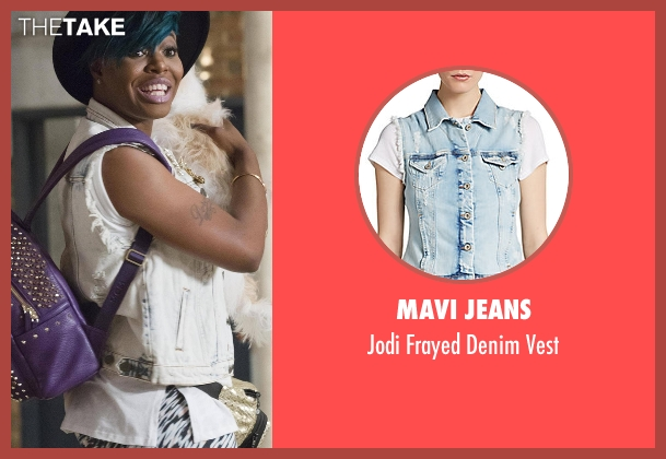 Mavi Jeans vest from Empire seen with Porsha (Ta'Rhonda Jones)