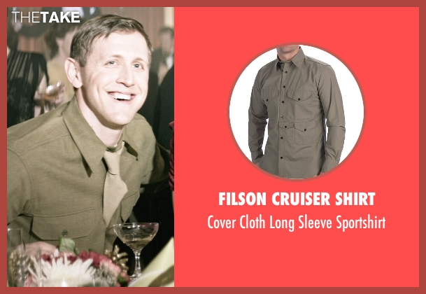 Filson Cruiser Shirt green sportshirt from The Age of Adaline seen with Primo Allon (Young Officer (1945))
