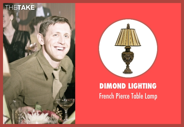Dimond Lighting lamp from The Age of Adaline seen with Primo Allon (Young Officer (1945))
