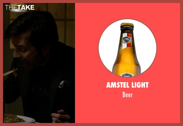 Amstel Light beer from Jessica Jones seen with Purple Man / Kilgrave (David Tennant)