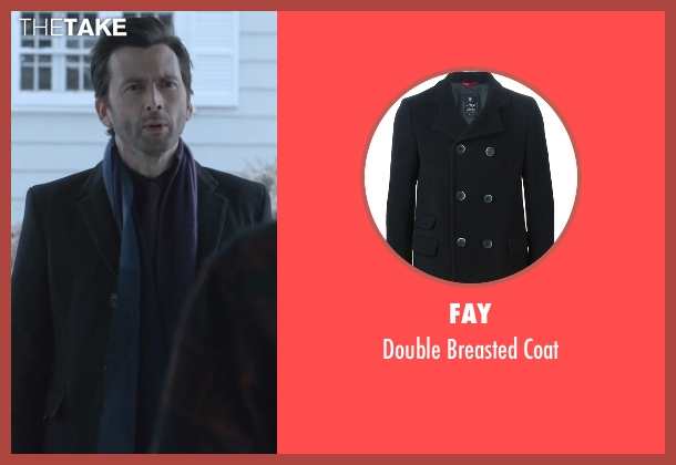 Fay   black coat from Jessica Jones seen with Purple Man / Kilgrave (David Tennant)