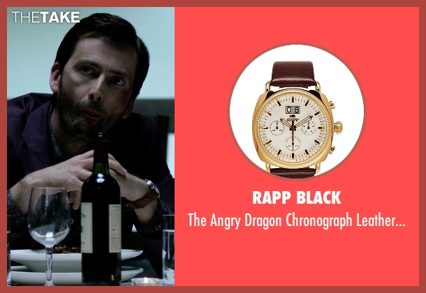 Rapp Black gold watch from Jessica Jones seen with Purple Man / Kilgrave (David Tennant)