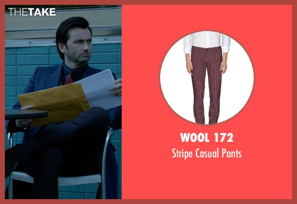 Wool 172 purple pants from Jessica Jones seen with Purple Man / Kilgrave (David Tennant)