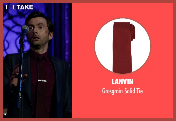 Lanvin	 red tie from Jessica Jones seen with Purple Man / Kilgrave (David Tennant)