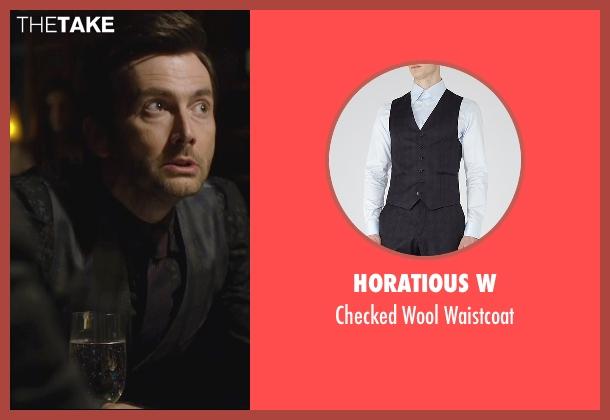 Horatious W waistcoat from Jessica Jones seen with Purple Man / Kilgrave (David Tennant)