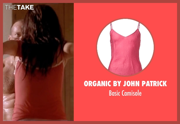 Organic By John Patrick pink camisole from The Transporter seen with Qi Shu (Lai)