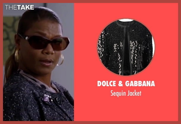 Dolce & Gabbana black jacket from Valentine's Day seen with Queen Latifah (Paula Thomas)