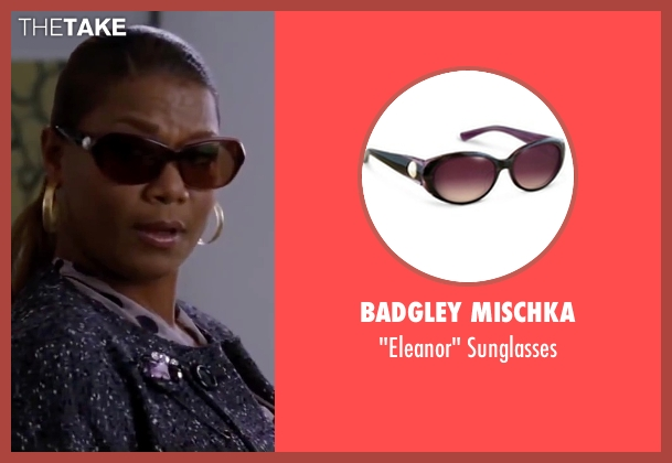Badgley Mischka brown sunglasses from Valentine's Day seen with Queen Latifah (Paula Thomas)