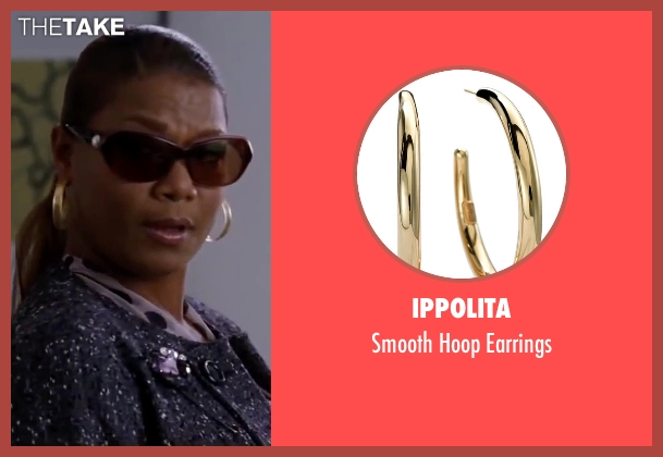 Ippolita gold earrings from Valentine's Day seen with Queen Latifah (Paula Thomas)