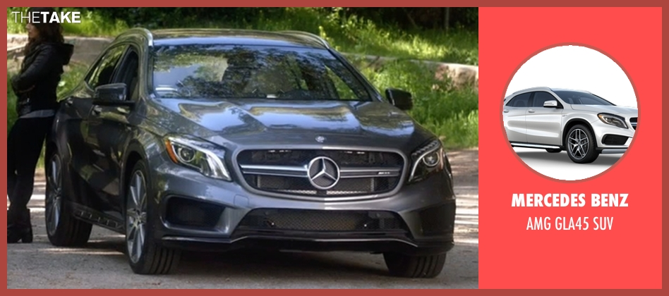 Mercedes Benz suv from Scandal seen with Quinn Perkins (Katie Lowes)