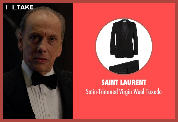 Saint Laurent black tuxedo from Spy seen with Raad Rawi (Unknown Character)