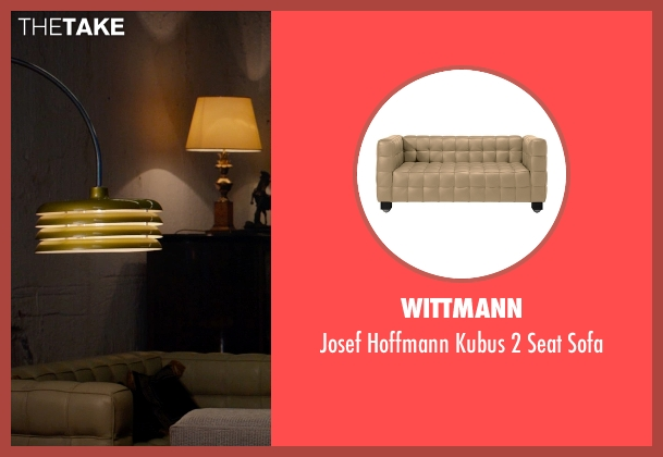 Wittmann sofa from Spy seen with Raad Rawi (Unknown Character)